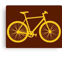 Fixie Bike Canvas Print