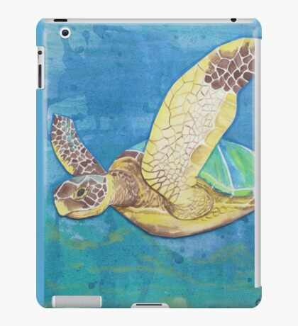 Big Blue iPad Case/Skin