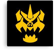 Enemy emblem Canvas Print
