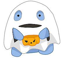 Halloween Spooky Quaggan Photographic Print