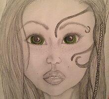 Elven girl by alexandriastuff