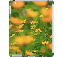 Yellow Blur iPad Case/Skin