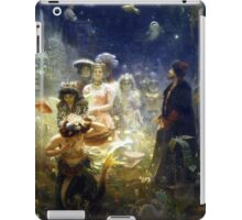 Sadko in the Underwater Kingdom Ilya Repin Mermaid iPad Case/Skin