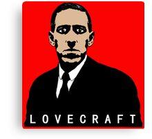 LOVECRAFT BODY Canvas Print