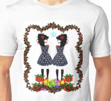 Lolita Whovian twins do Christmas Unisex T-Shirt