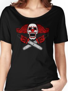 Clown and Chainsaws Women's Relaxed Fit T-Shirt