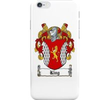 King (Dublin - 1606) iPhone Case/Skin