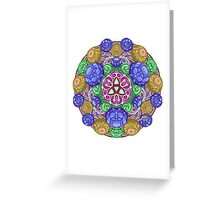 Pearl Pond Red Variant Greeting Card