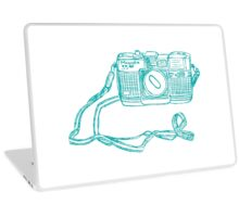 Miranda Blue Laptop Skin