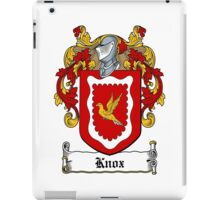 Knox (1693) iPad Case/Skin
