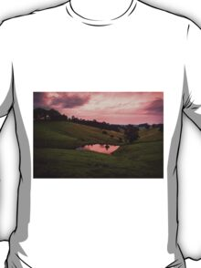 Sunsets in the water T-Shirt
