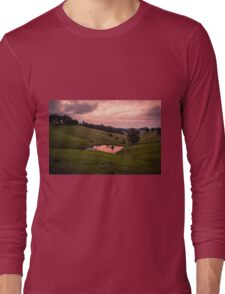 Sunsets in the water Long Sleeve T-Shirt