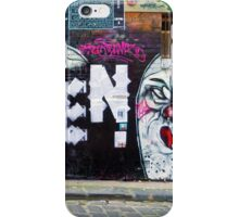 Stolen graffiti - Melbourne Australia iPhone Case/Skin