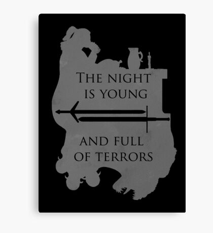 The Night Is Young Canvas Print