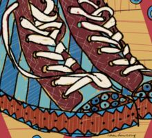 Funky shoes Sticker