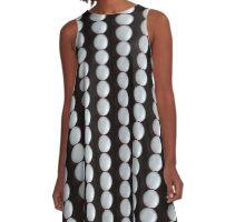 Selenite Sphere © Vicki Ferrari A-Line Dress
