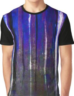 abstract  blue stripes Graphic T-Shirt