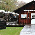 OC&T Railway At Petroleum Cenrer by Geno Rugh