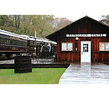 OC&T Railway At Petroleum Cenrer Photographic Print