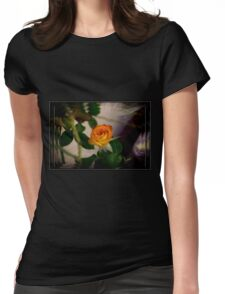 Lotis' Flower Womens Fitted T-Shirt