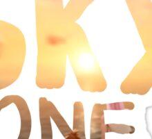 One Sky, One Destiny, Handwritten   Sticker