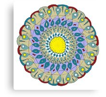 Mandala: L'Origine De Tous Les Cultes Canvas Print