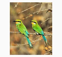 Bee-eater Greens - Mother and Chick of Spring Unisex T-Shirt
