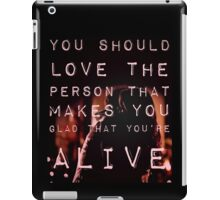That's What Love Should Be iPad Case/Skin