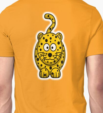 Leopard, Cartoon, Cute, Spotty, Big Cat, Yellow, CAT Unisex T-Shirt