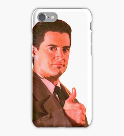 Agent Dale Cooper iPhone Case/Skin