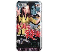 Kill Bill Japan Poster iPhone Case/Skin