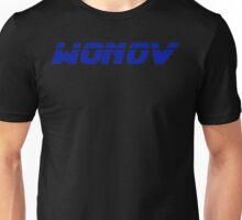 Wonov Text Plain Blue Unisex T-Shirt