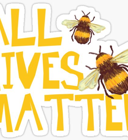 All Hives Matter - Funny Humor Beekeeping Sticker