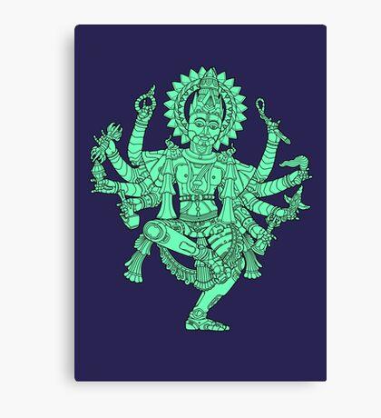 Robotic Shiva Canvas Print