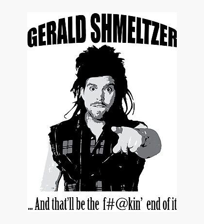 Gerald Shmeltzer Photographic Print