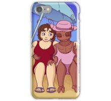 Heather & Triss at the Beach iPhone Case/Skin