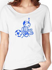 Robot soccer player Women's Relaxed Fit T-Shirt