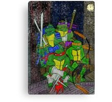 TMNT Rooftop Canvas Print