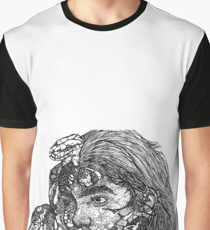 Stippling  Graphic T-Shirt