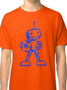 Robot soccer player Classic T-Shirt