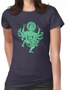 Robotic Shiva Womens Fitted T-Shirt