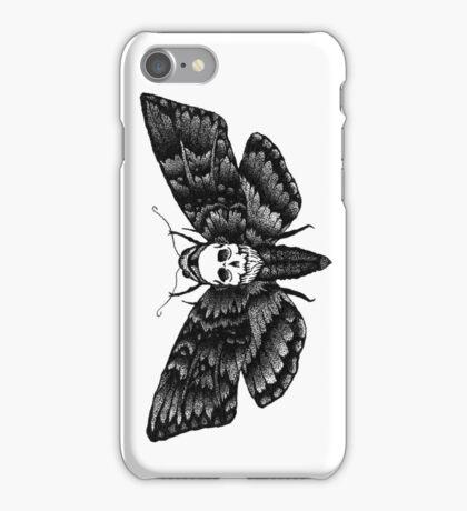 Resonating Powder Moth iPhone Case/Skin