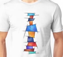 Esseniumos V1 - square abstract without back Unisex T-Shirt