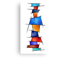 Esseniumos V1 - square abstract without back Canvas Print