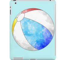 Watercolor Beachball art iPad Case/Skin