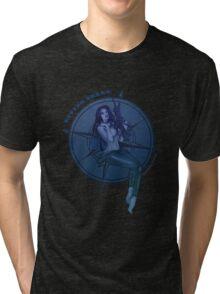 Diving Belle  Tri-blend T-Shirt