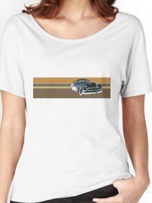 Old School Chop Top Custom Hot Rod Women's Relaxed Fit T-Shirt