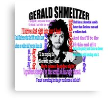 Gerald Shmeltzer Multi Quote Canvas Print