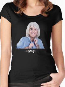 Punk Paula Women's Fitted Scoop T-Shirt