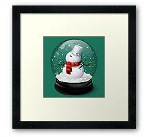 Christmas Snowman Framed Print